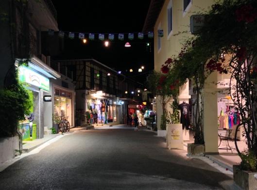 Vassiliki main street
