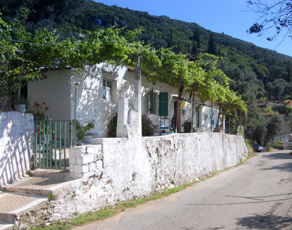 Traditional houses in Lakones
