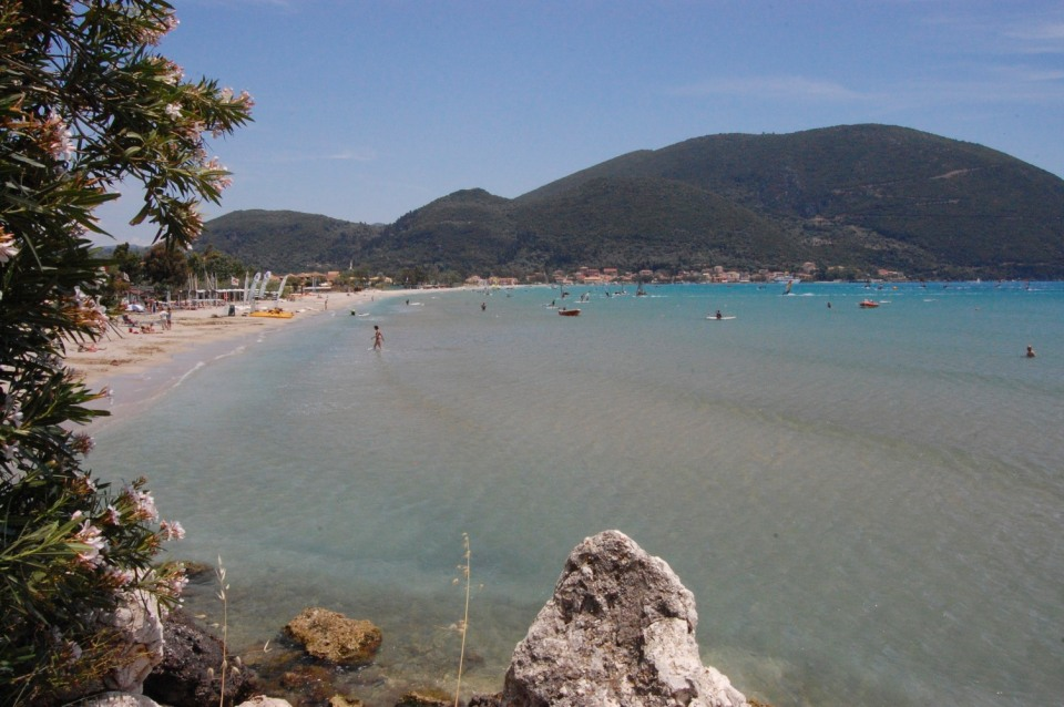 Across the bay to Vassiliki