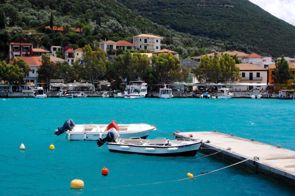 Vassiliki harbour